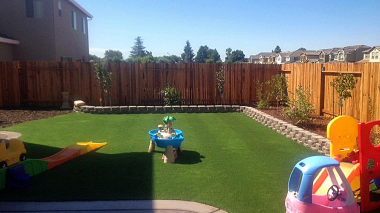 Artificial Grass Installation in Livingston, California