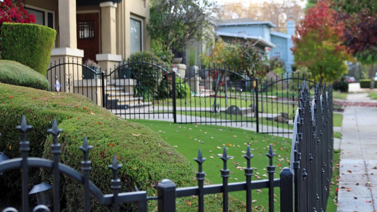 Artificial Grass Installation in Mentone, California