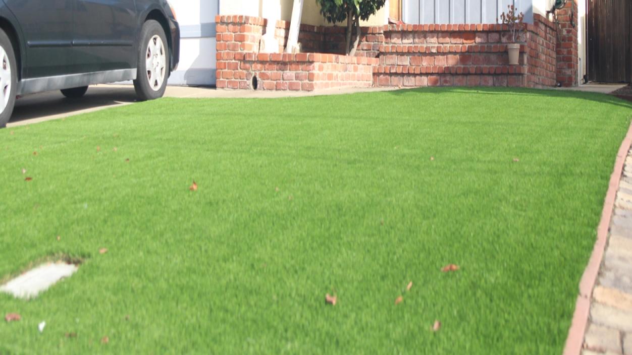 Artificial Grass Installation In La Mirada, California
