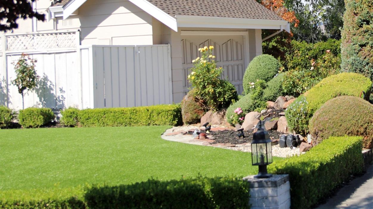 Artificial Grass Installation in North Tustin, California