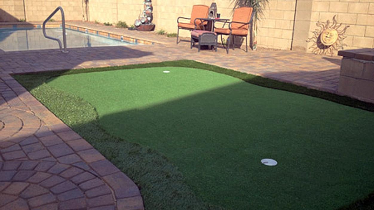 Artificial Grass Installation in Page, Arizona