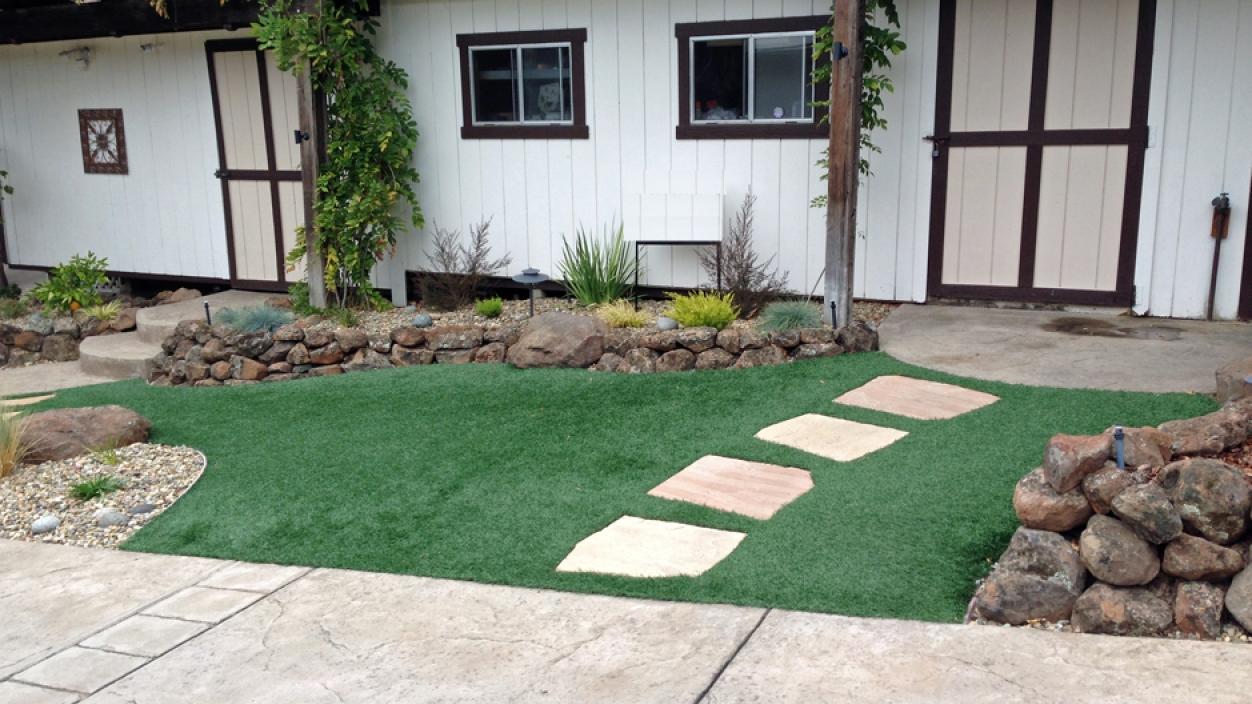 Artificial Grass Installation In Rancho Agoura Hills, California