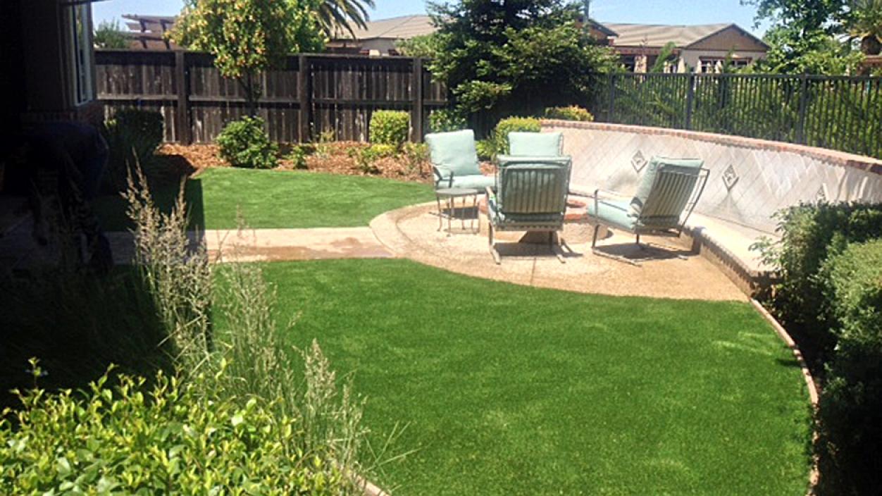Artificial Grass Installation in Riverbank, California