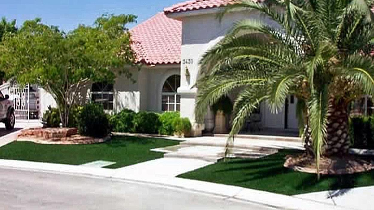 Artificial Grass Installation in Rowlett, Texas