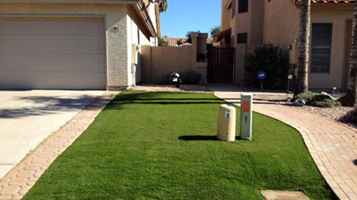 Artificial Grass Installation in Wickenburg, Arizona