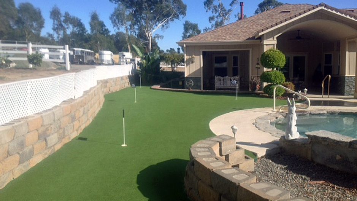 Artificial Grass Installation in Yountville, California