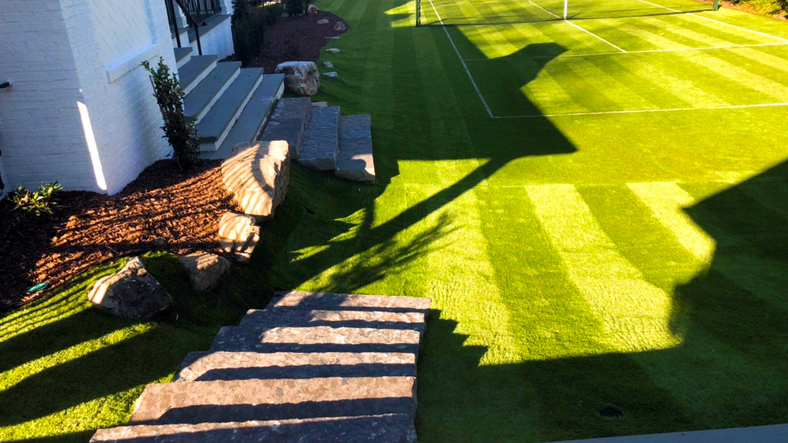 Tennis Court Synthetic Grass