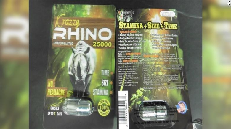 Using Rhino male enhancement products can send you to the hospital, FDA warns