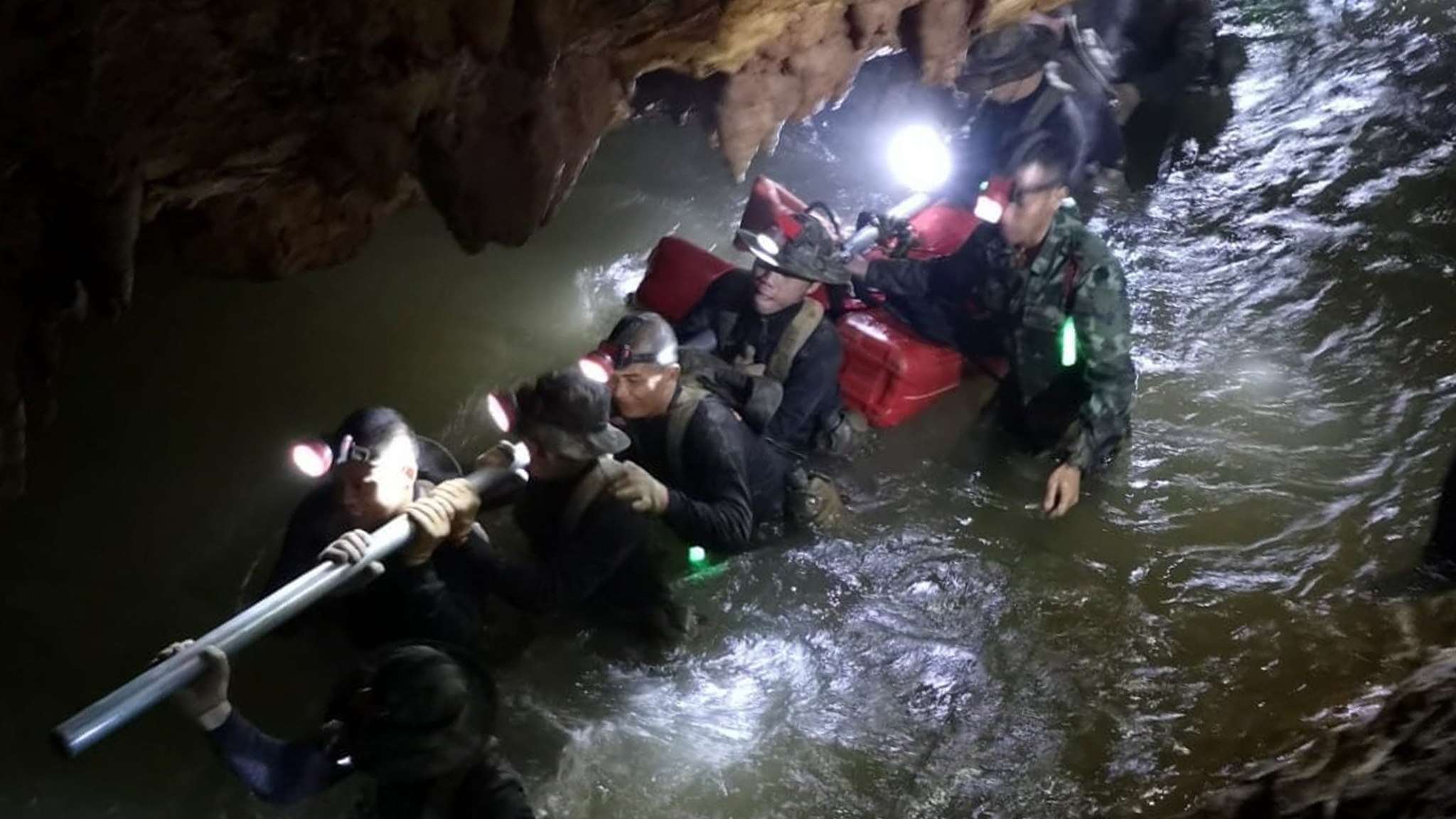 Miracle on the mountain: How 12 kids and a coach were saved from flooded Thai cave