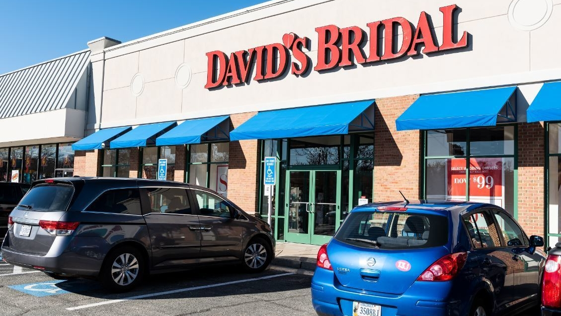 Davids Bridal is filing for bankruptcy - heres whats happening to your gown order