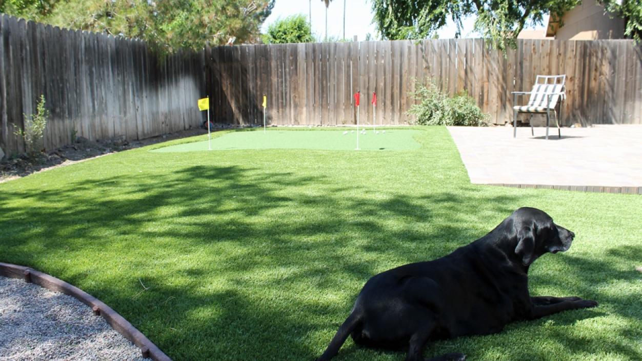 Synthetic Grass Installation In Elk Grove, California