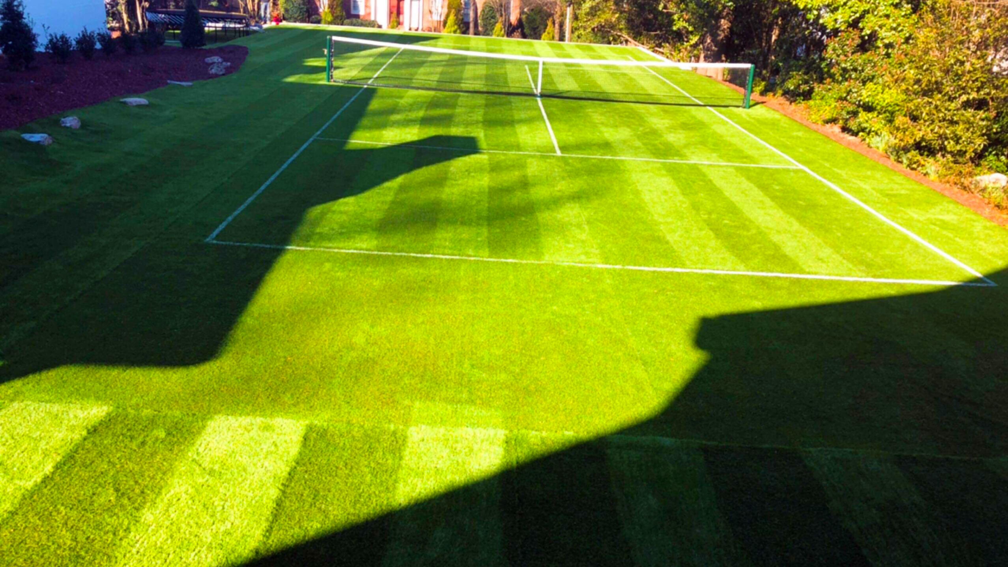 Backyard Tennis Court Artificial Grass Synthetic Turf
