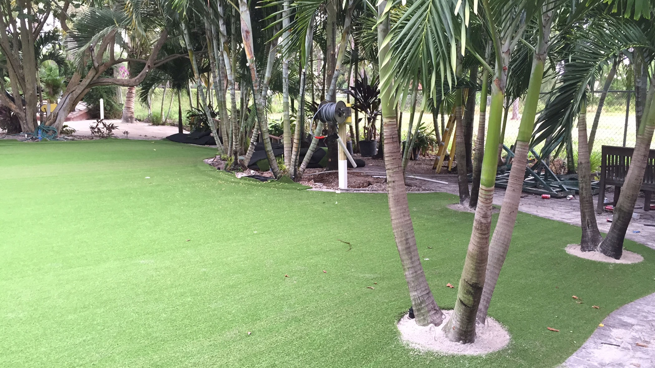 Backyard Makeover, Artificial Grass West Sacramento, California