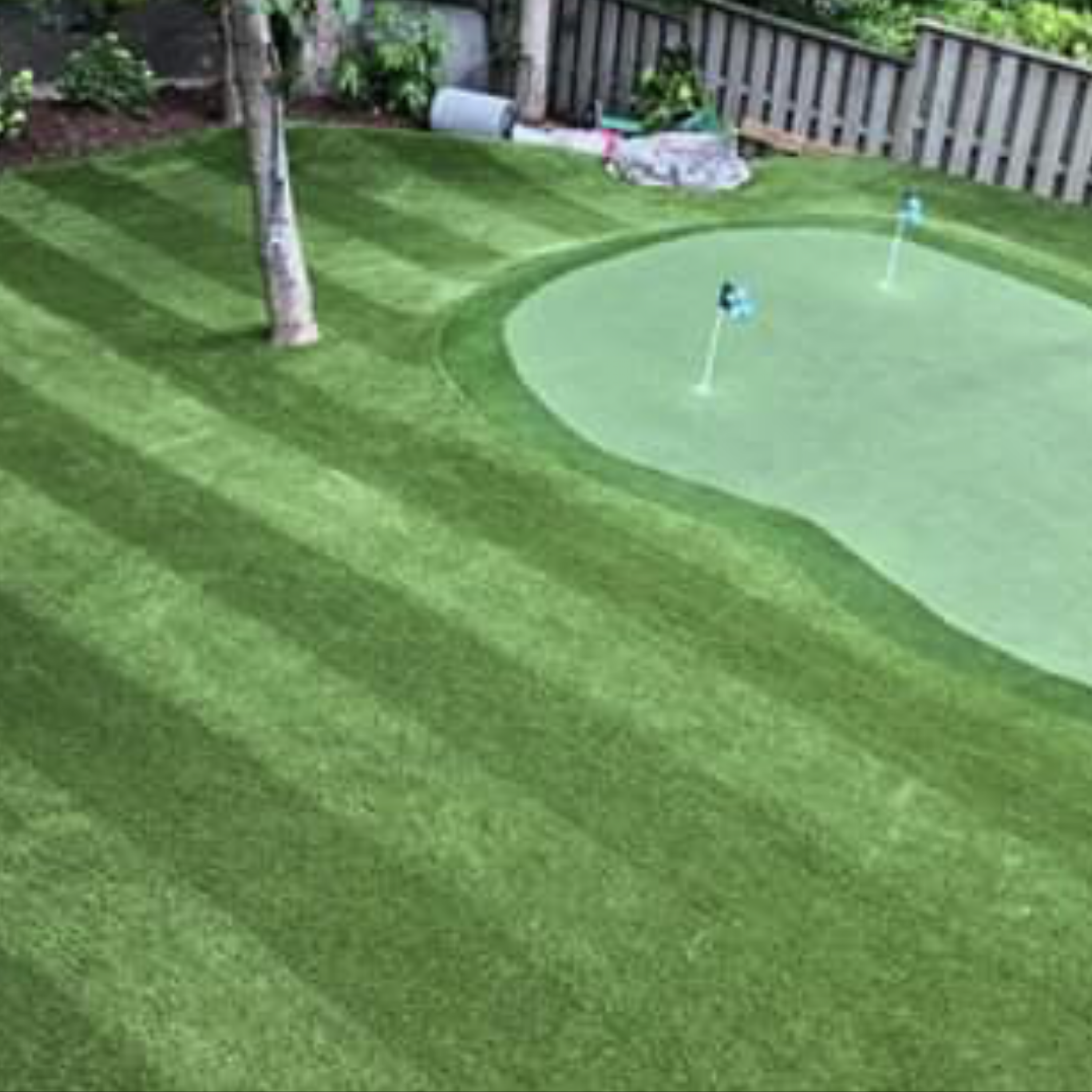 Putt-46 BiColor fake grass for yard,backyard turf,turf backyard,turf yard,fake grass for backyard,fake green grass,green grass carpet,artificial grass installation,artificial turf installation,turf installation,synthetic grass installation,fake grass installation