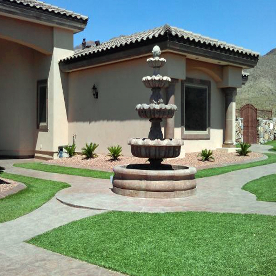 Artificial Grass, Synthetic Turf Installation in El Paso, Texas