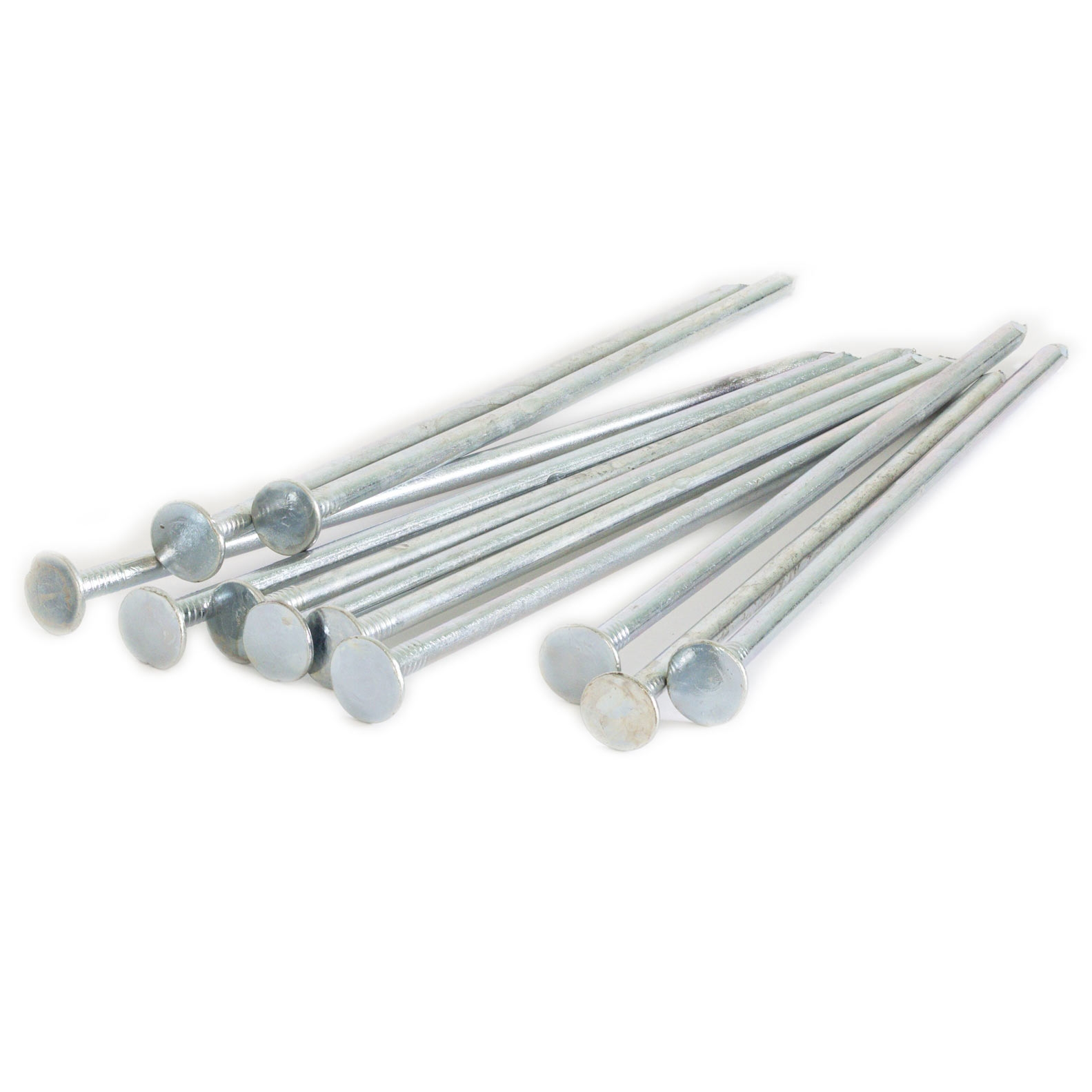 Galvanized spikes nails for synthetic turf installation