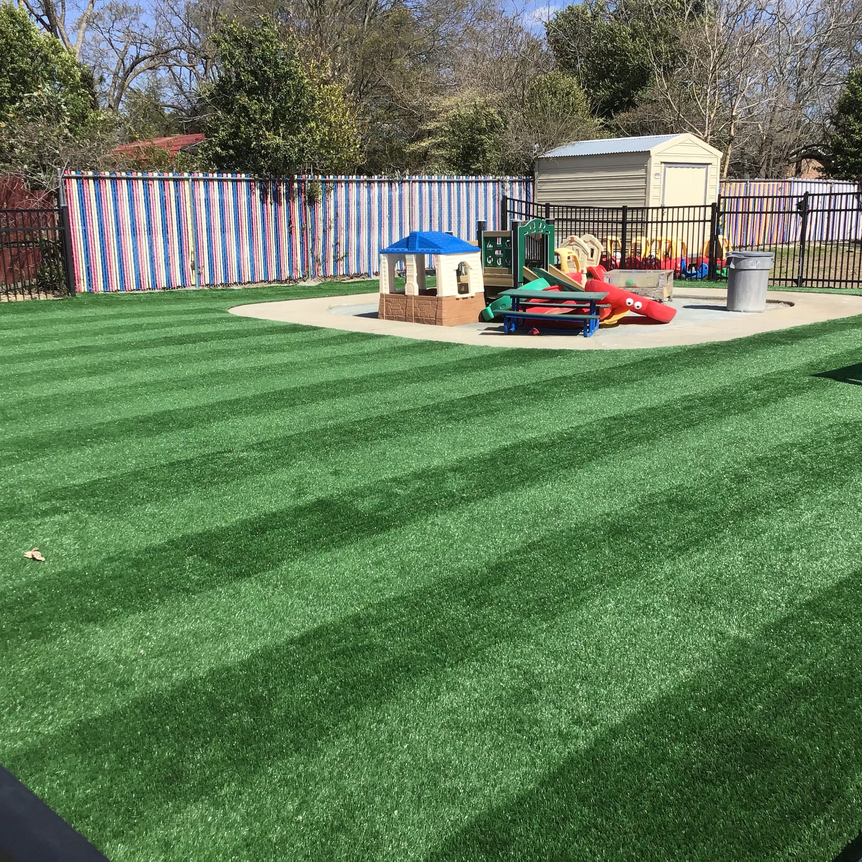 Premium M Blade-80 playground artificial grass synthetic turf
