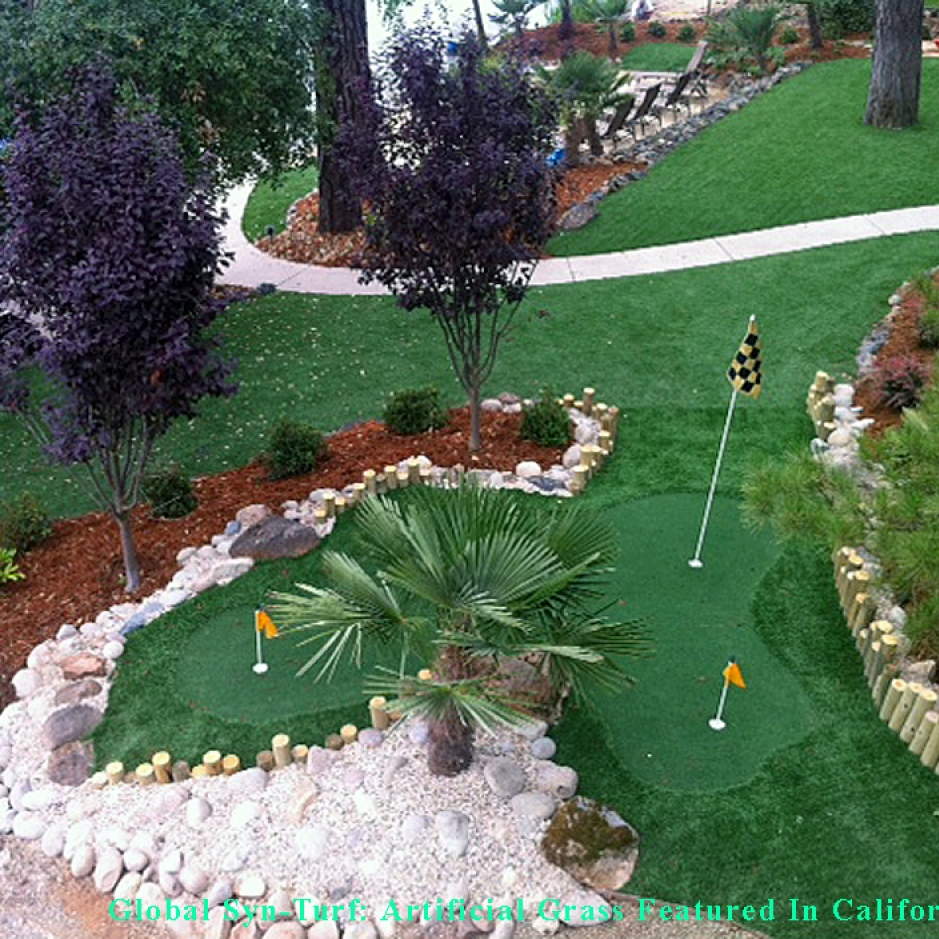 Artificial Grass Installation in Santa Cruz, California