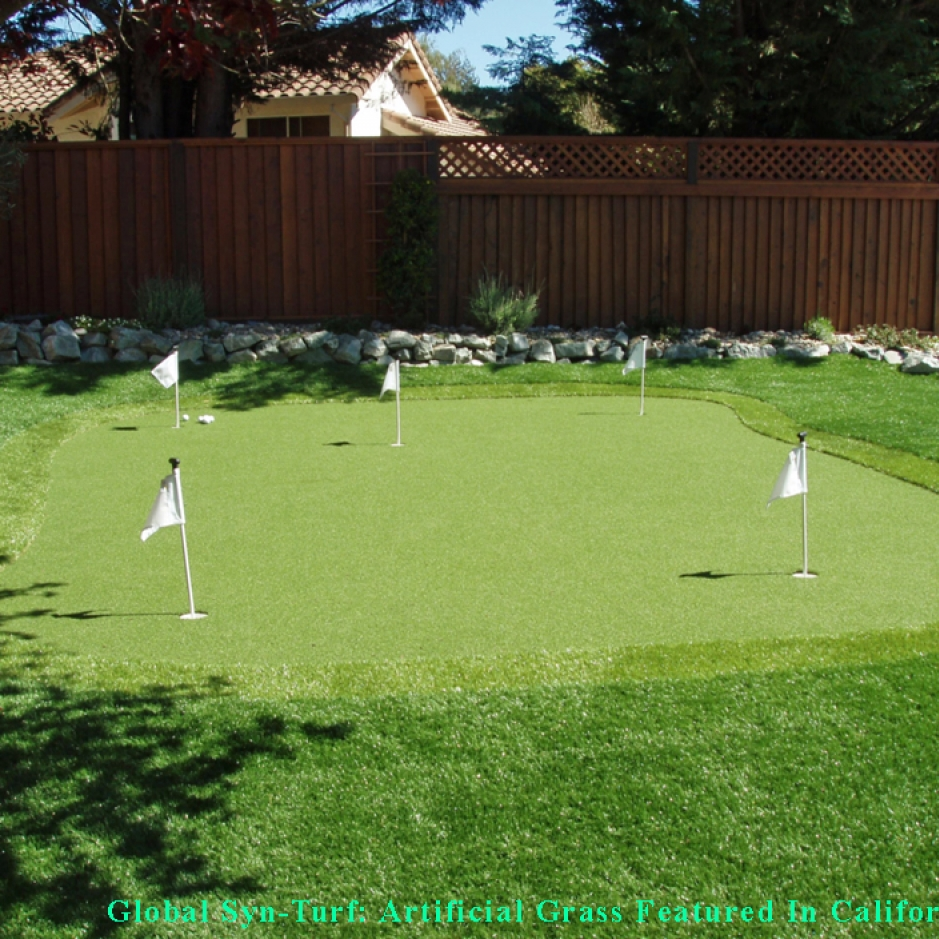 Artificial Grass Installation In Santa Barbara, California