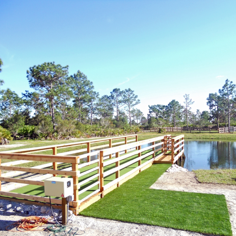 Artificial Grass Installation in Valrico, Florida