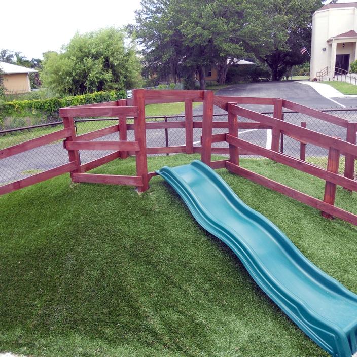 Artificial Grass Installation in Palm Beach Gardens, Florida