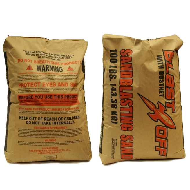 Silica Sand infill in a bag for synthetic turf installation