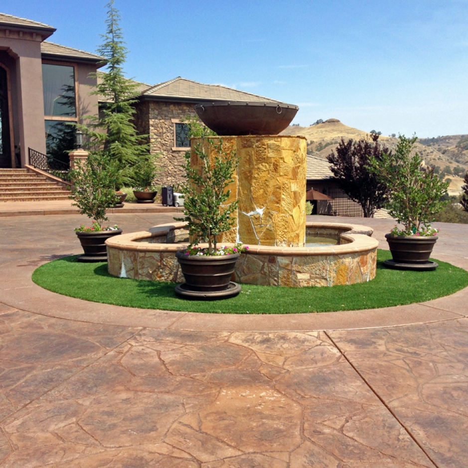 Artificial Grass Installation In Corona Del Mar, California