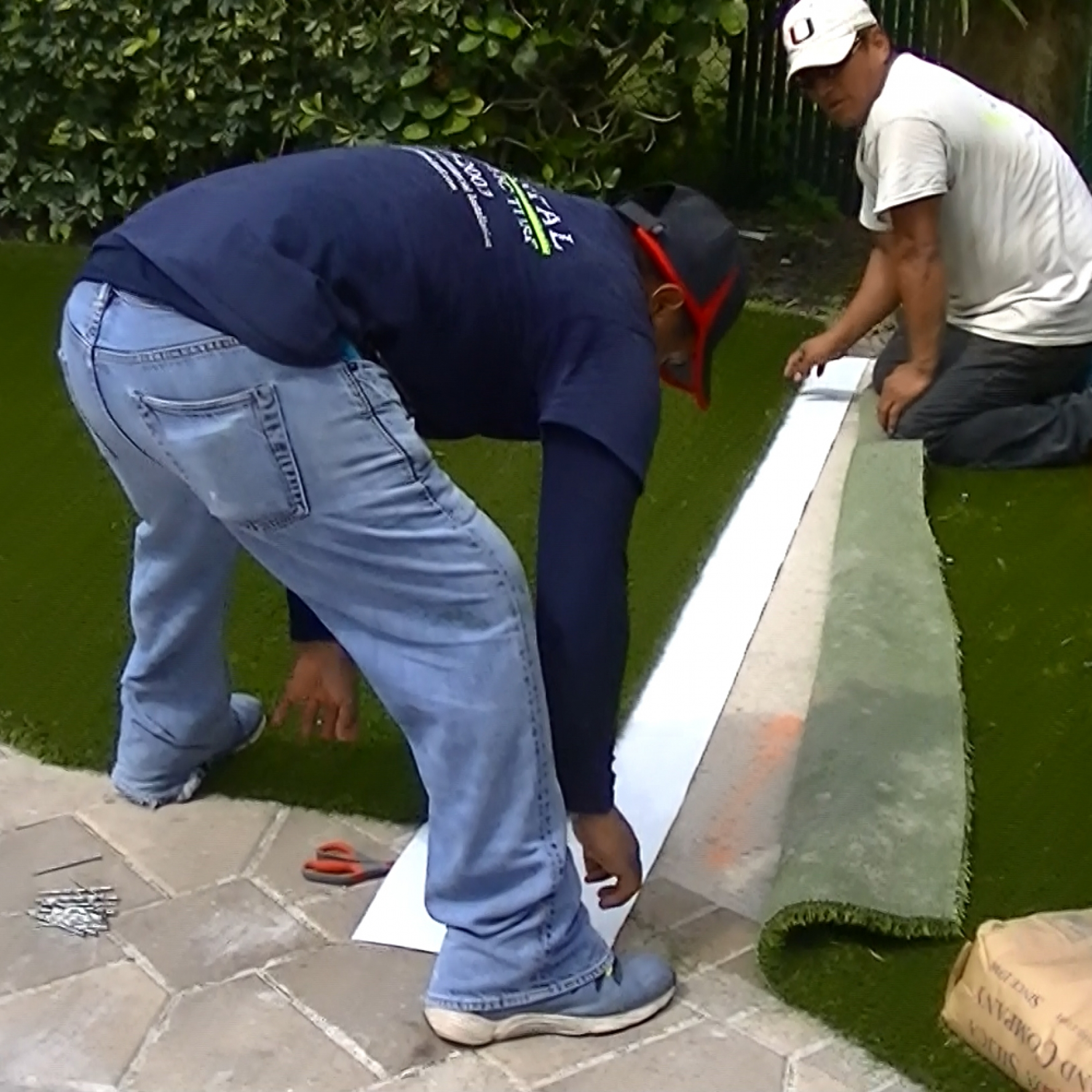Artificial Grass Installation Seaming