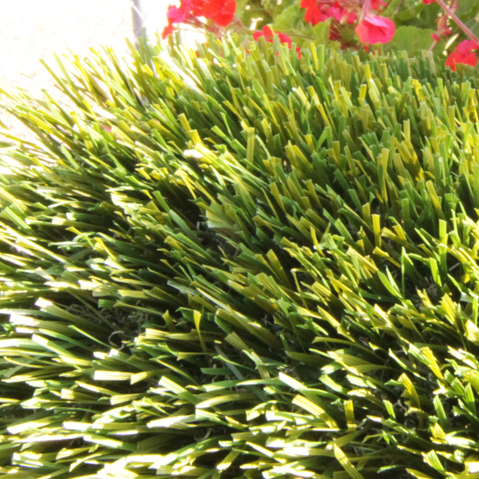 Double S Blade shape artificial grass 72 ounces