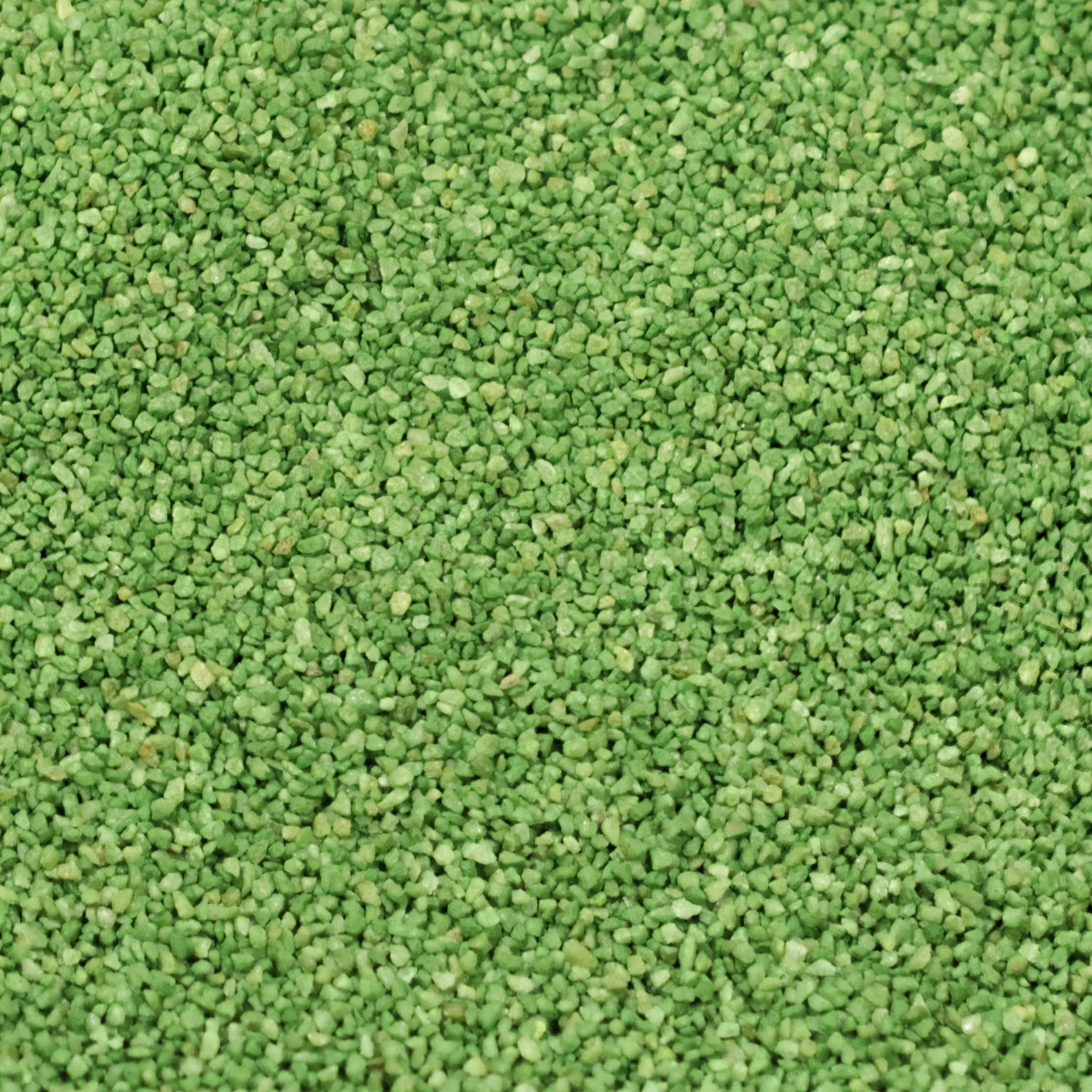 Green sand for artificial grass infill