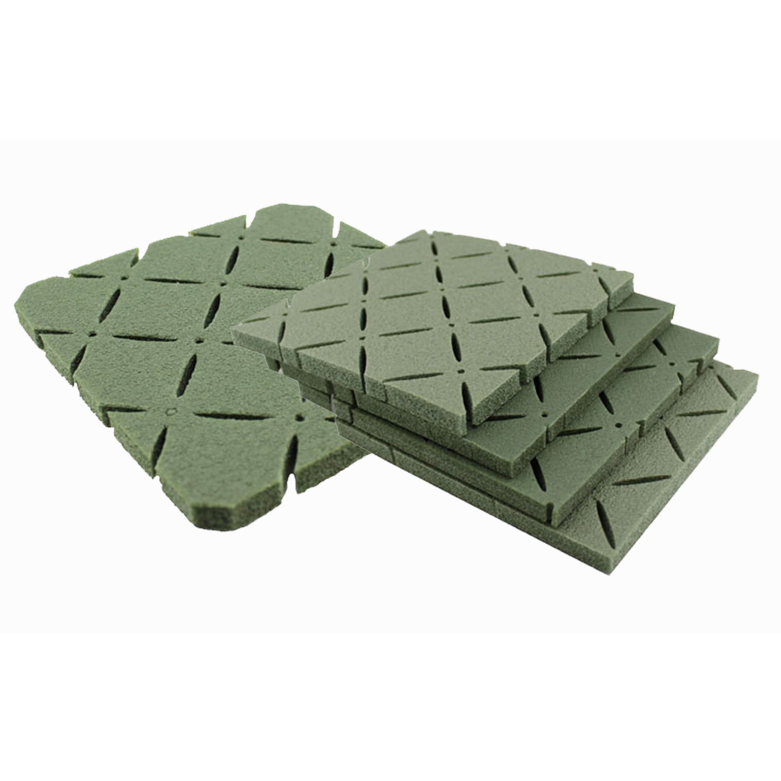 Shock pads for artificial grass installation, playgrounds safety pads