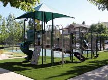 Playground Synthetic Grass Installation in Austin, Texas