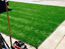 Artificial Grass Installation in Brownsville, Texas
