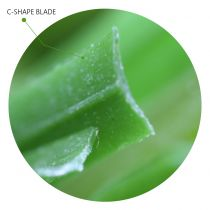 C-Shape Blade: Artificial Grass synthetic blades technology unique blades by Global Syn-Turf