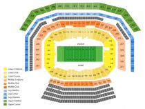 Levis stadium seating chart