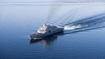 USS Sioux City heads for Annapolis ahead of November commissioning