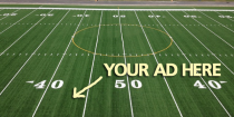 School Sells Ad Space on Field Surface to Pay for Synthetic Turf