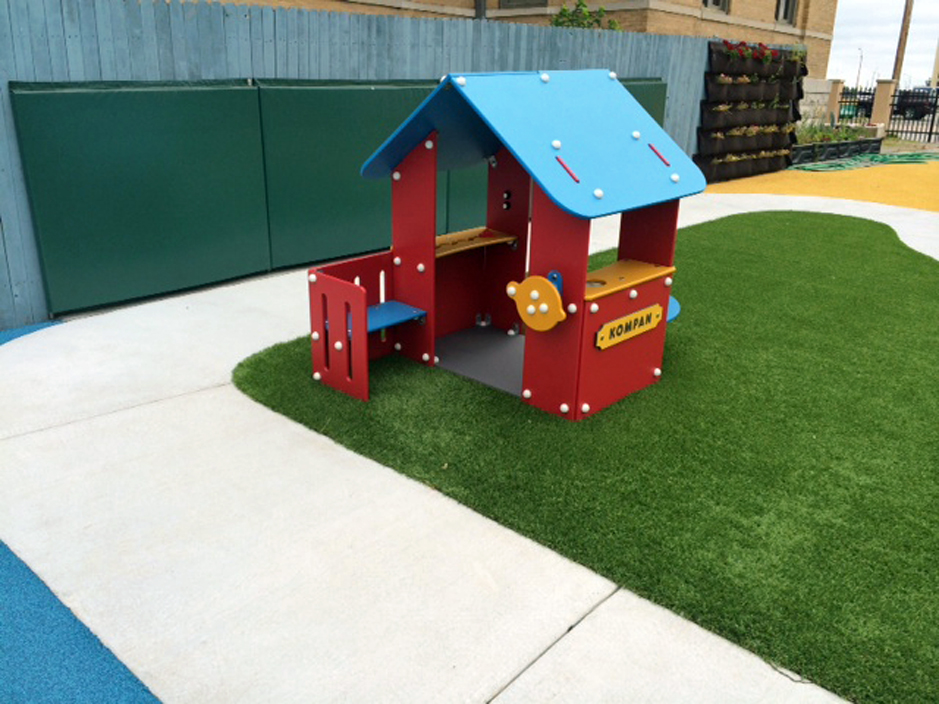 Artificial Grass Playground in Austin, Texas