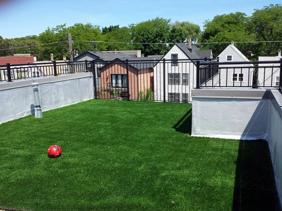 Artificial Lawn Backyard in Chicago, Illinois