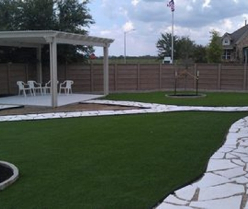 Synthetic Turf Installation in Austin, Texas