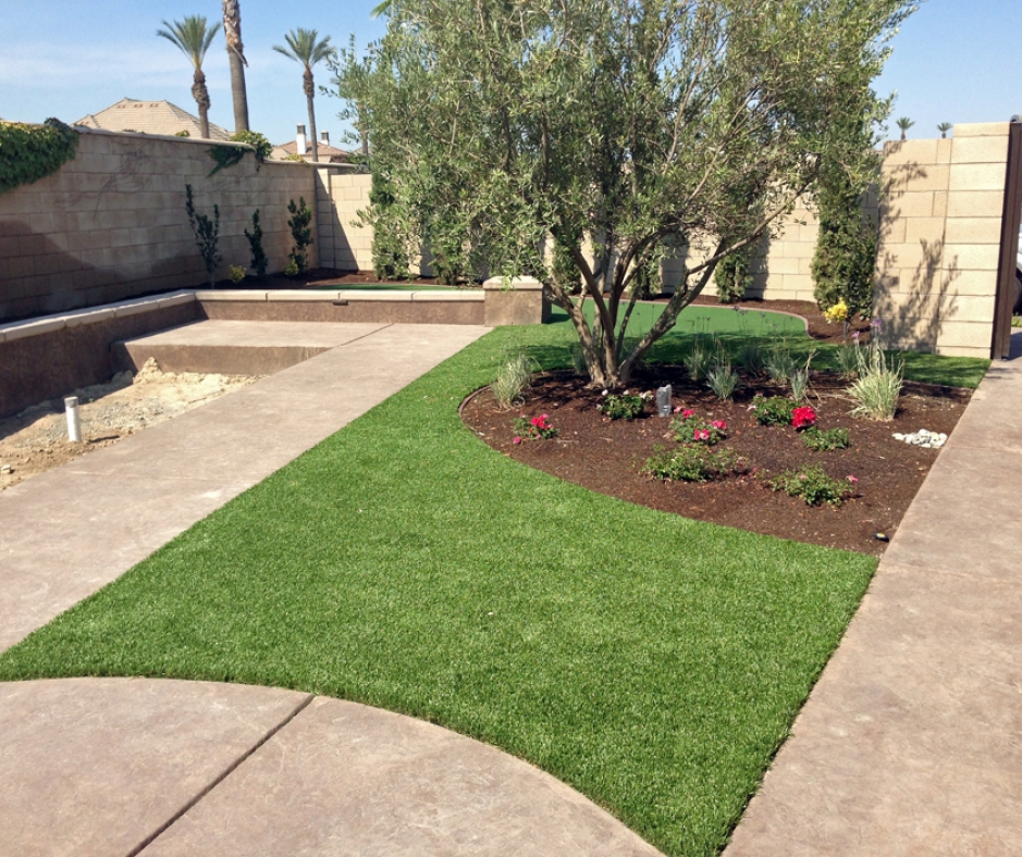 Artificial Grass installation in Fresno, California