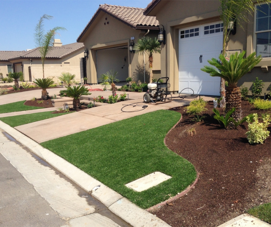 Artificial Grass Installation in Huntington Beach, California