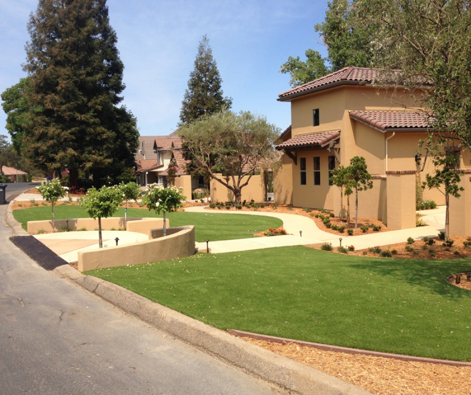 Artificial Grass Installation in Saratoga, California