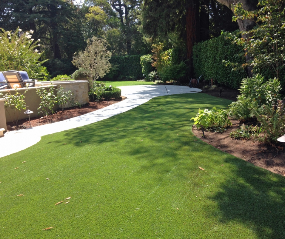 Artificial Grass Installation In Atherton, California