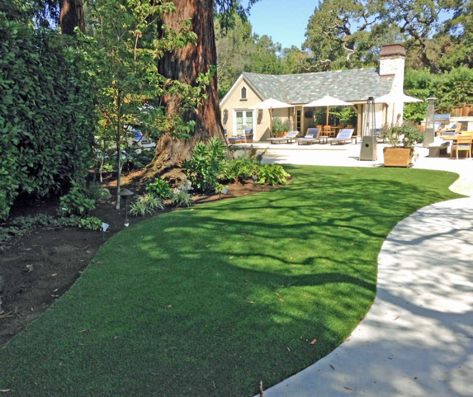Artificial Grass Installation In Los Altos Hills, California