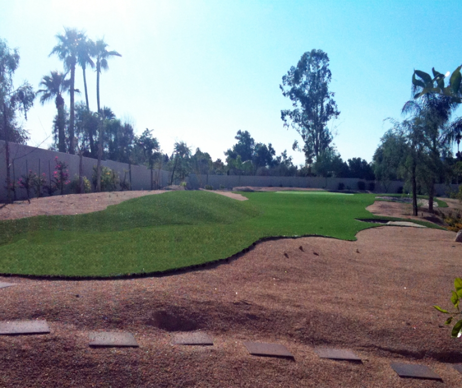 Artificial Grass Installation in Gilbert, Arizona