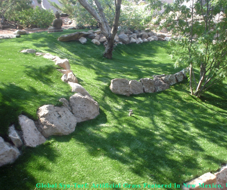 Artificial Grass Installation Natural Stone