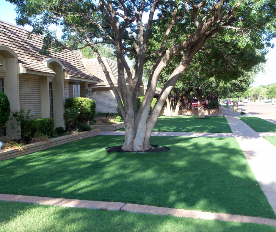 Artificial Grass Installation in Abilene, Texas
