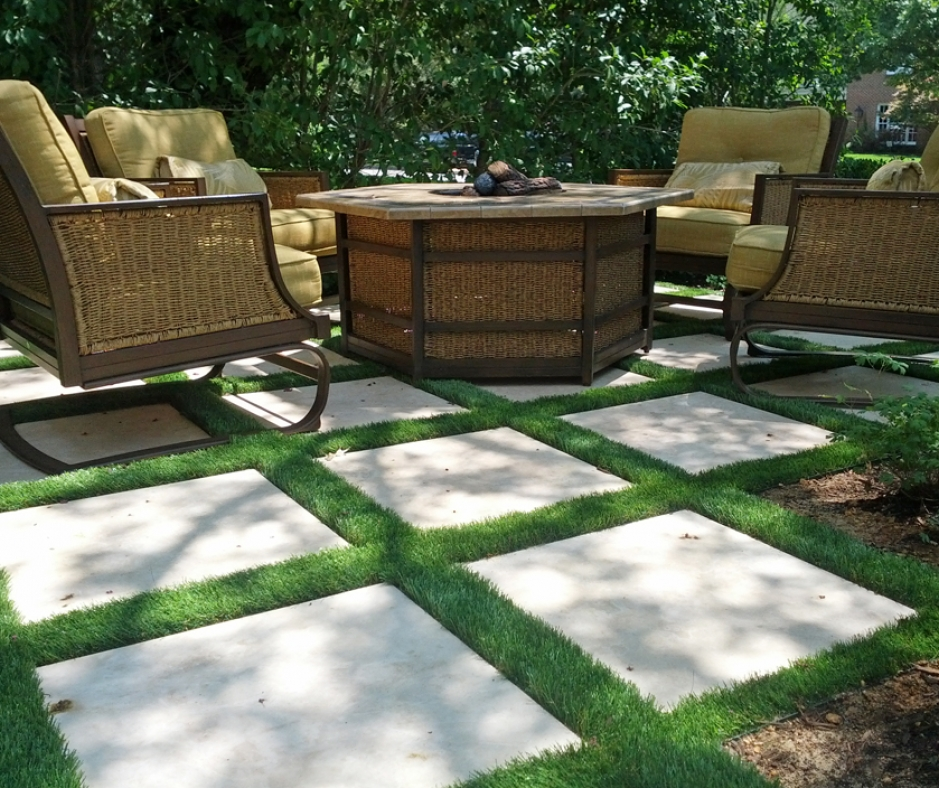 Artificial Grass Installation in Lewisville, Texas