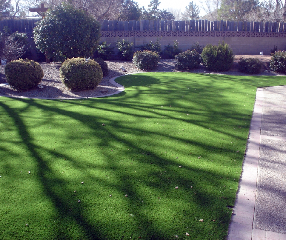 Artificial Grass Installation in Santa Fe, New Mexico